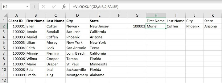 Vlookup Exact and Approximate match - first match