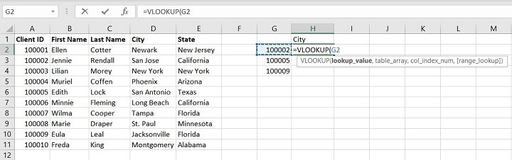 Vlookup Exact and Approximate match - lookup value