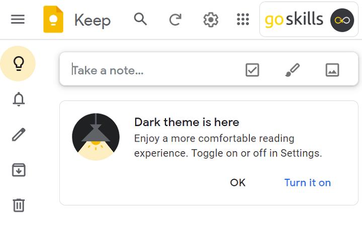Best note taking app - Google Keep