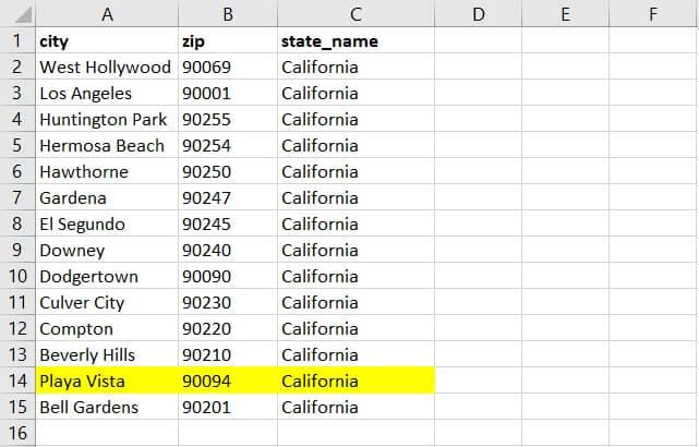 Sorting in Excel - hidden rows