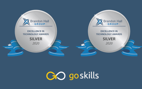 GoSkills Wins Silver and Bronze For Brandon Hall's 2020 Excellence in Technology Awards