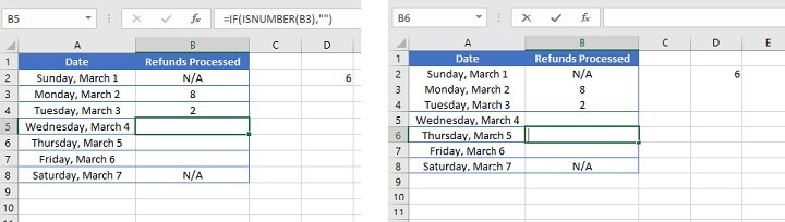Excel counta - not working