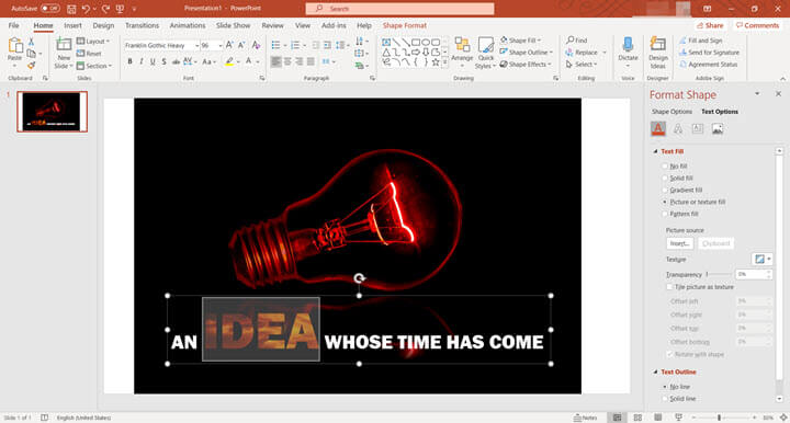 Best font for PowerPoint presentation