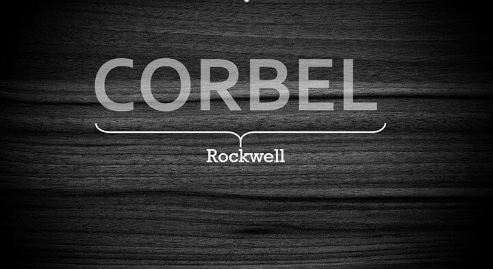 Best font for PowerPoint presentation - Corbel