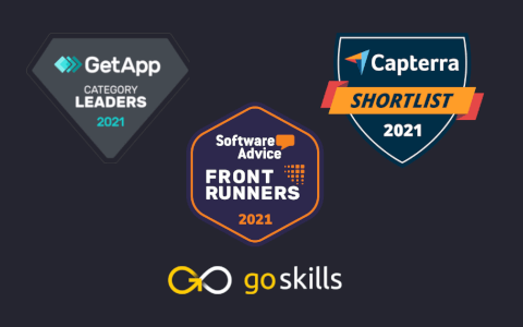 GoSkills Named by Getapp, Software Advice, and Capterra as a Category Leader for Training Software