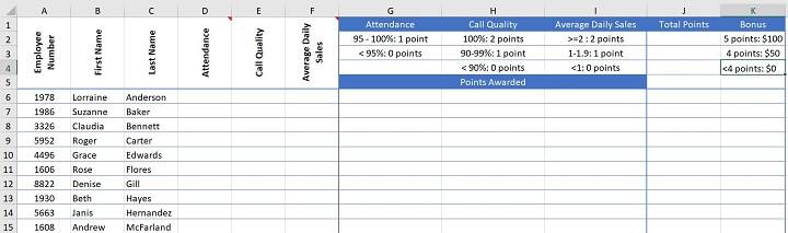 Excel challenge 8