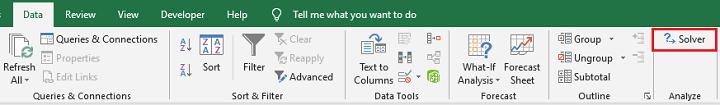 Excel Solver