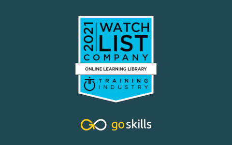 GoSkills Selected For Training Industry's 2021 Online Learning Library Companies Watch List