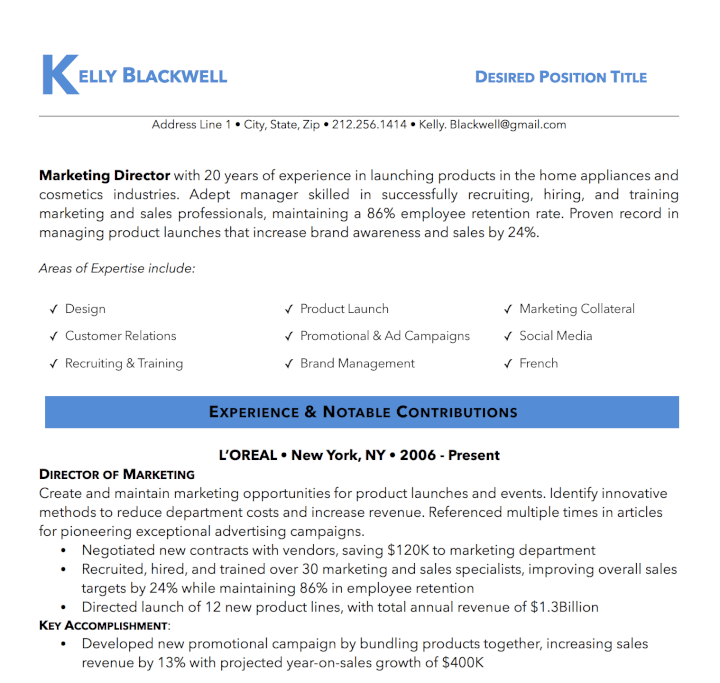 50 Free Microsoft Word Resume Templates That\'ll Land You the Job