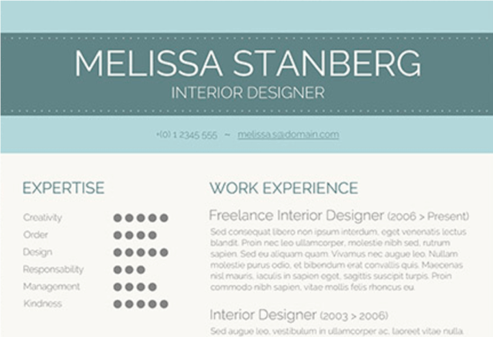50 free microsoft word resume templates thatll land you the job visual resume template maxwellsz