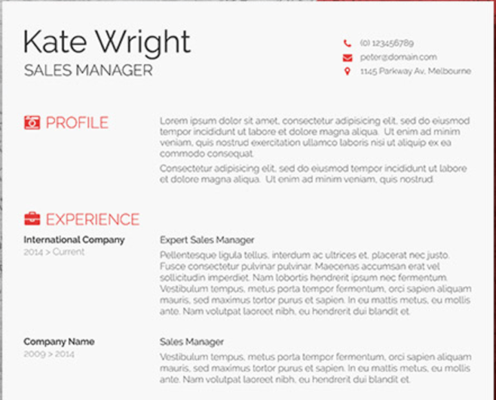 51 Free Microsoft Word Resume Templates Updated August 2020