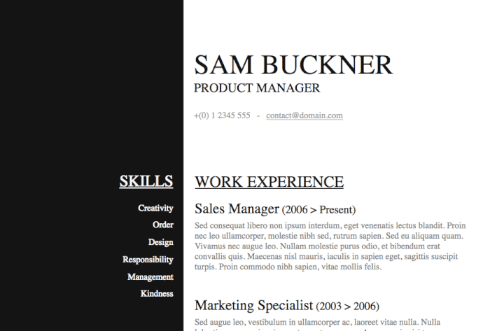 50 Free Microsoft Word Resume Templates Updated October 2019