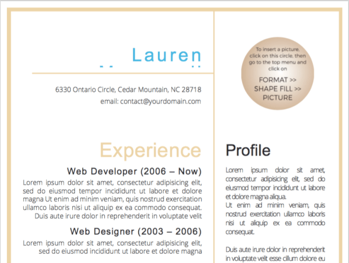 50 Free Microsoft Word Resume Templates - Updated August 2019